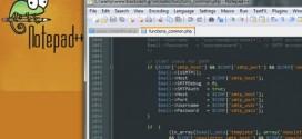 دانلود آخرین نسخه نرمافزار Notepad++ کار با متن
