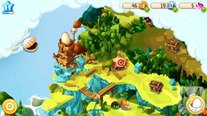 تصویر شماره ۲) گرافیک بازی و محیطی از نقشه پیش رو