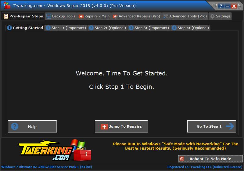معرفی نرم افزار Windows Repair All in One برای رفع تمامی مشکلات ویندوز
