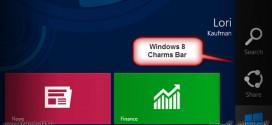 غیرفعال سازی Charms Bar در ویندوز 8 و 8.1