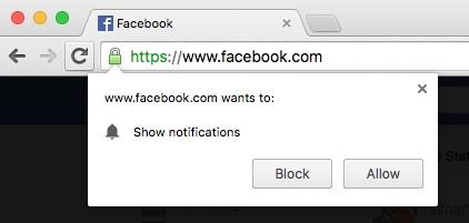 خاموش کردن درخواست اعلانها (Notifications) در مرورگر Chrome