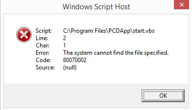 رفع مشکل Windows Script Host در ویندوز