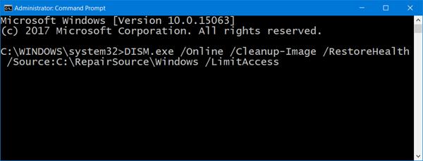 خطای 0x80070436 در ویندوز 10